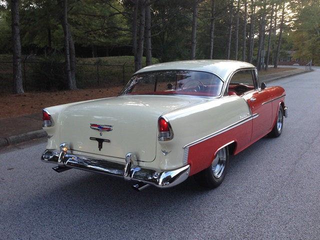 1955 chevy bel air 2 door hardtop sport coupe 350ci th400 power disc baby moons - 1955 chevrolet belair sport coupe ...