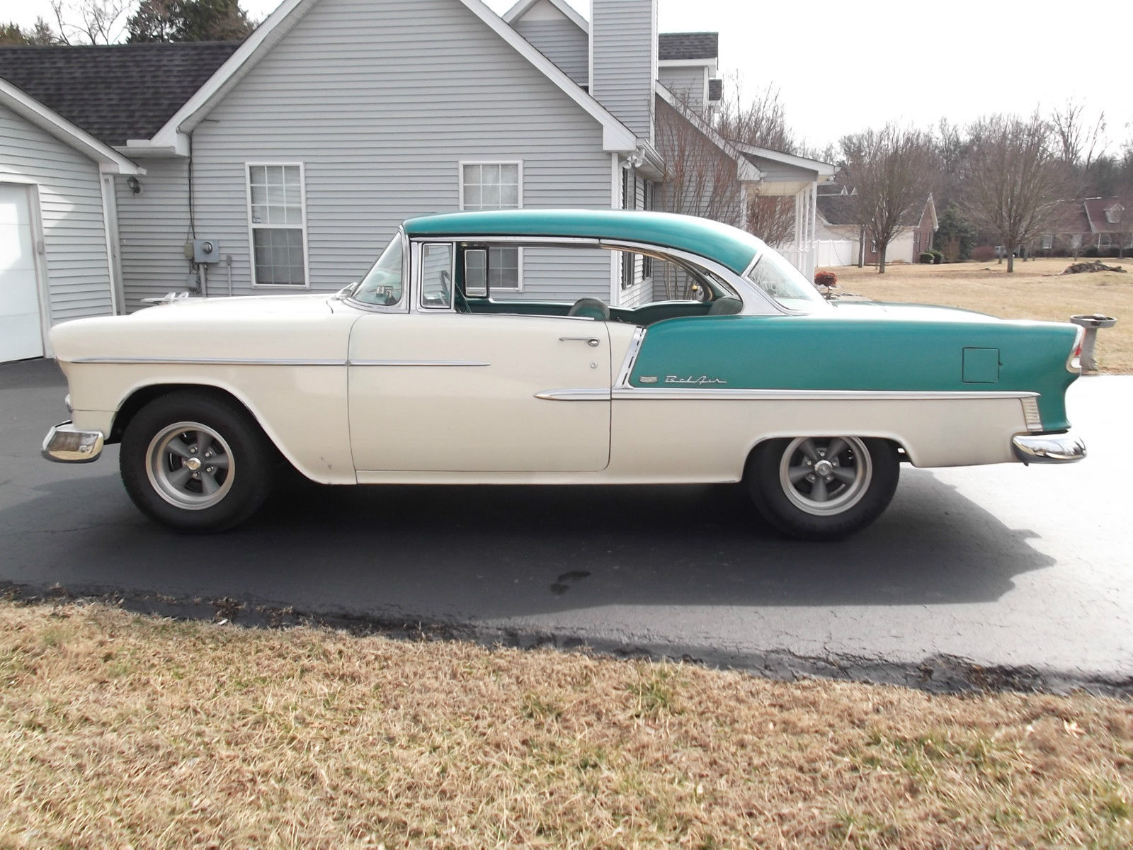 1955 Chevy Bel Air Two Door Hardtop 58000 Original Miles Chevrolet 4 Paint Rare