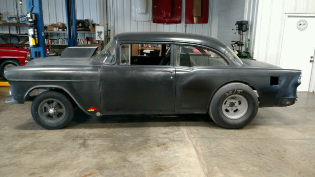 1955 Chevy Gasser Real Deal Old 60 S Drag Car