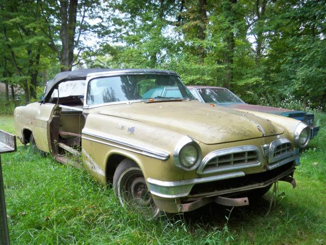 1955 Chrysler New Yorker Convertible 331 Hemi Nugget Gold