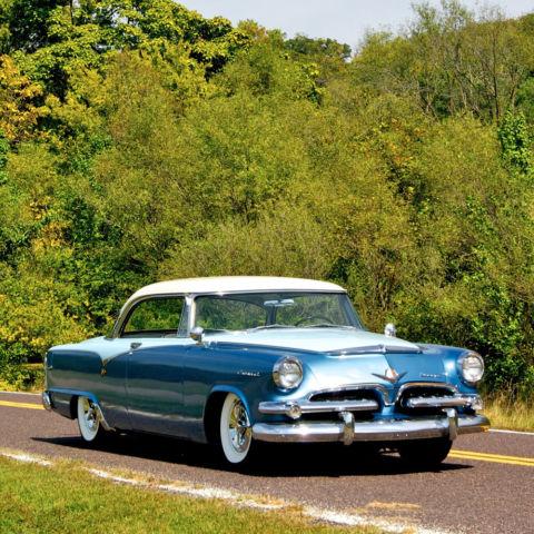1955 Dodge Coronet 2 Door Hardtop Red Ram V8 Engine Auto Trans
