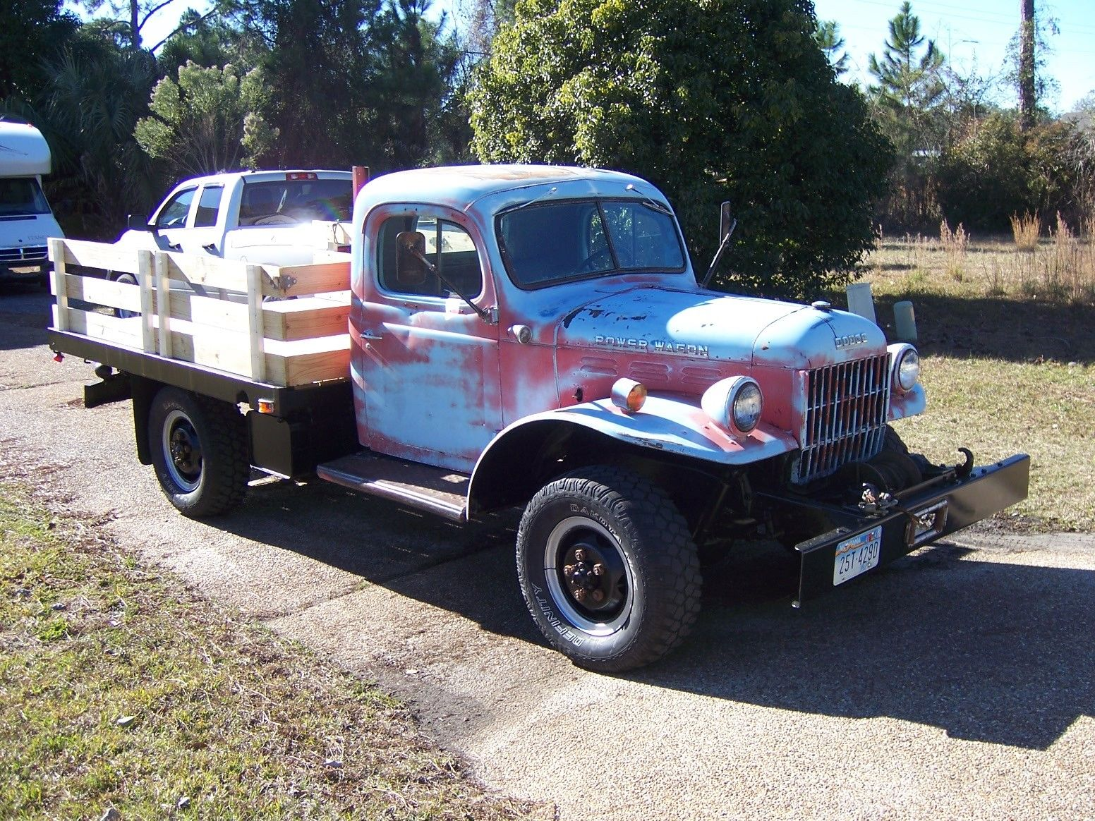 1955 dodge power wagon base c3 pw6 126 3 8l1955 Dodge Power Wagon Base 38l For Sale #3