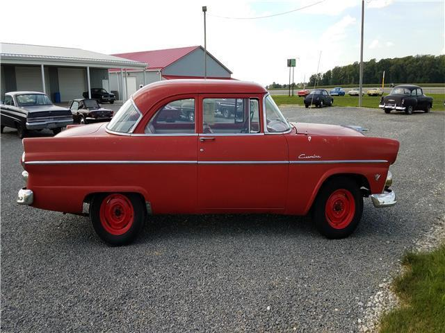 1955 ford customline 2 door 0 red 2 door post 302 manual for 1955 ford customline 4 door