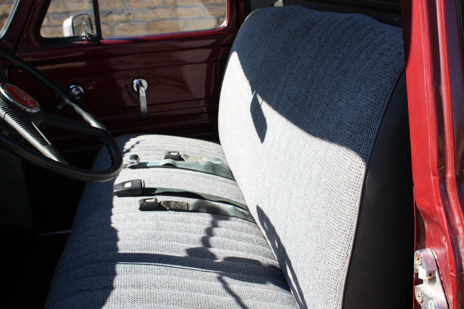 1955 Ford F 100 With A 239 Y Block And 3 Speed Column Shift Transmission F100 Heater Core