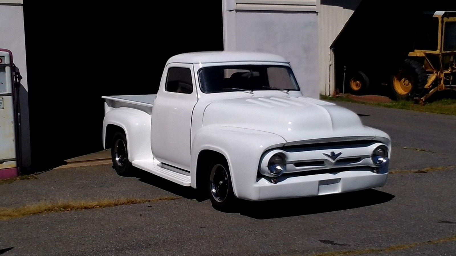 1955 Ford F100 Custom Pickup Truck 500hp 429 Motor Steering Wheels