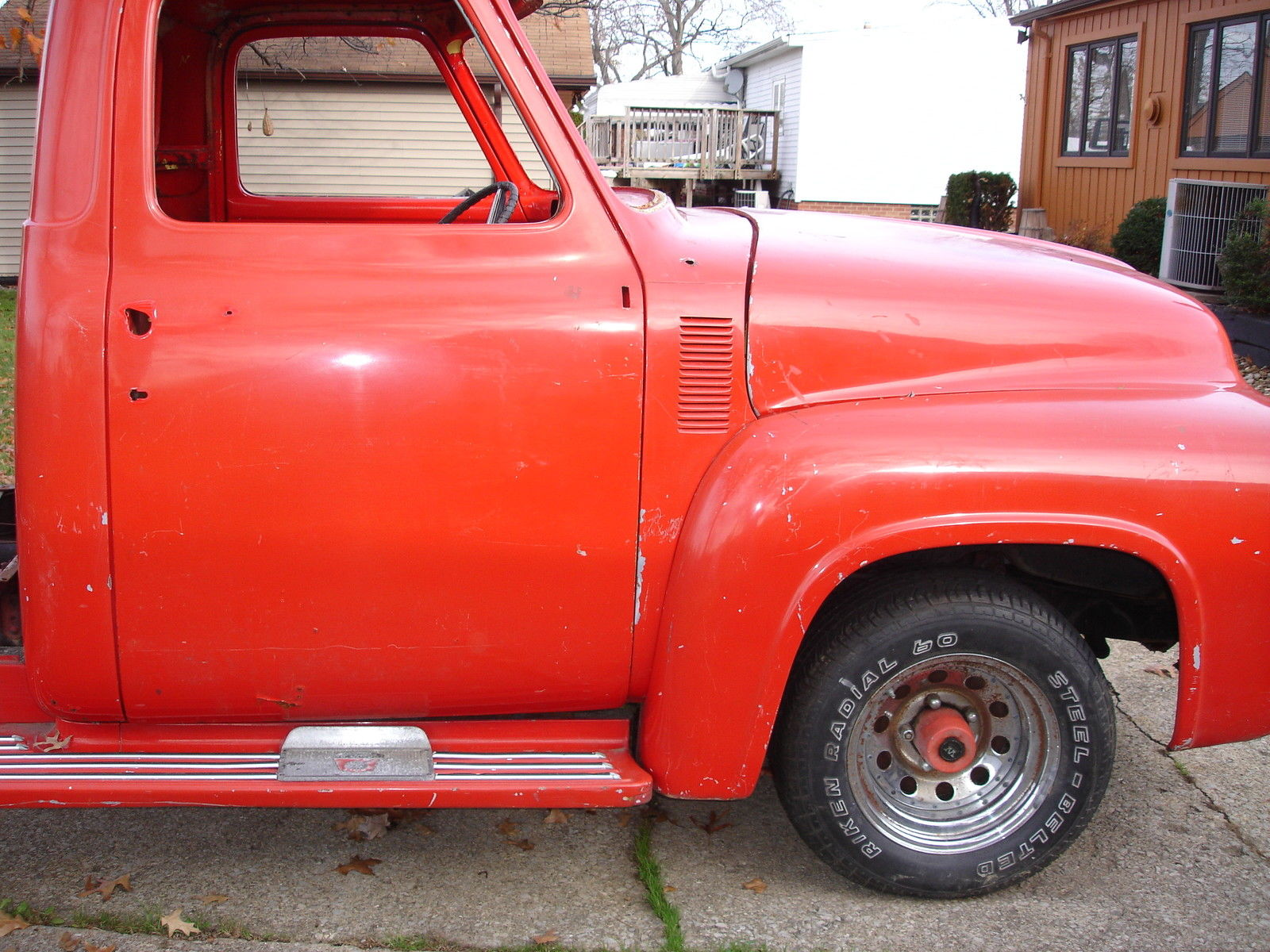 1955 Ford F100 Street Rod Project No Reserve Hot