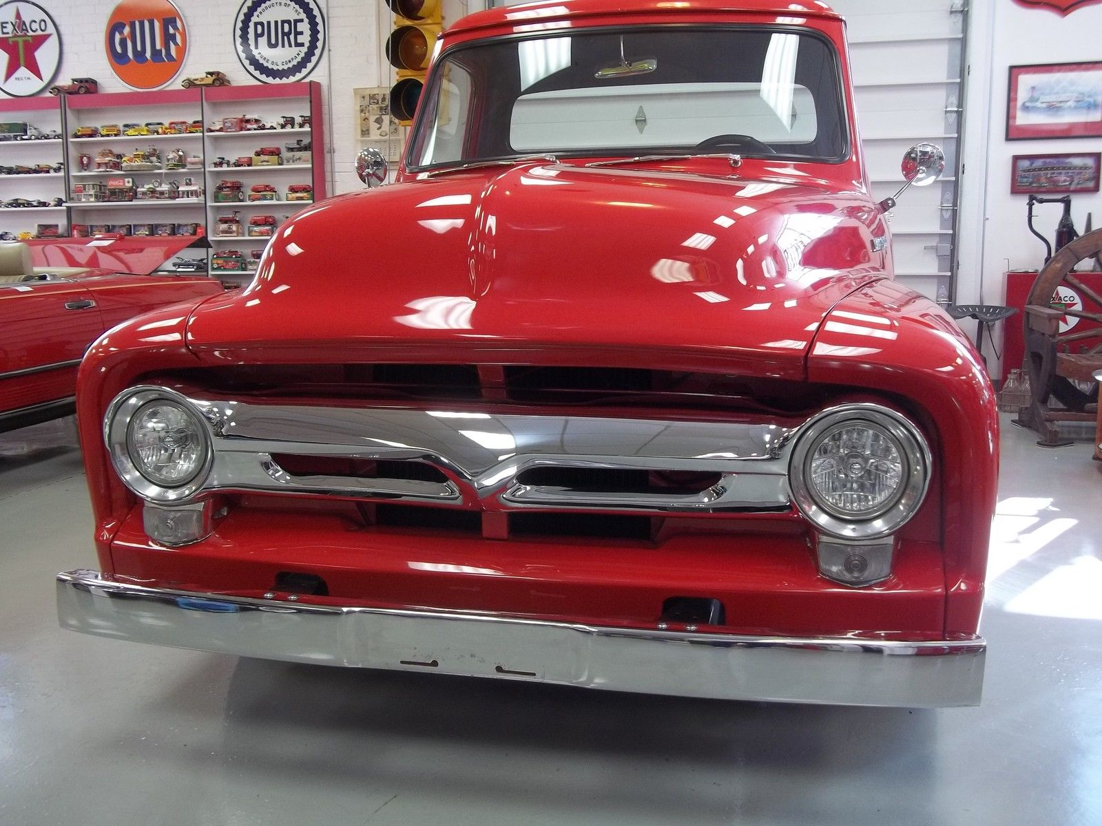 1955 Ford Pickup Beautiful F100 F 100 Custom Truck Restored 130 Pick Up For Sale Pics 5 Videos