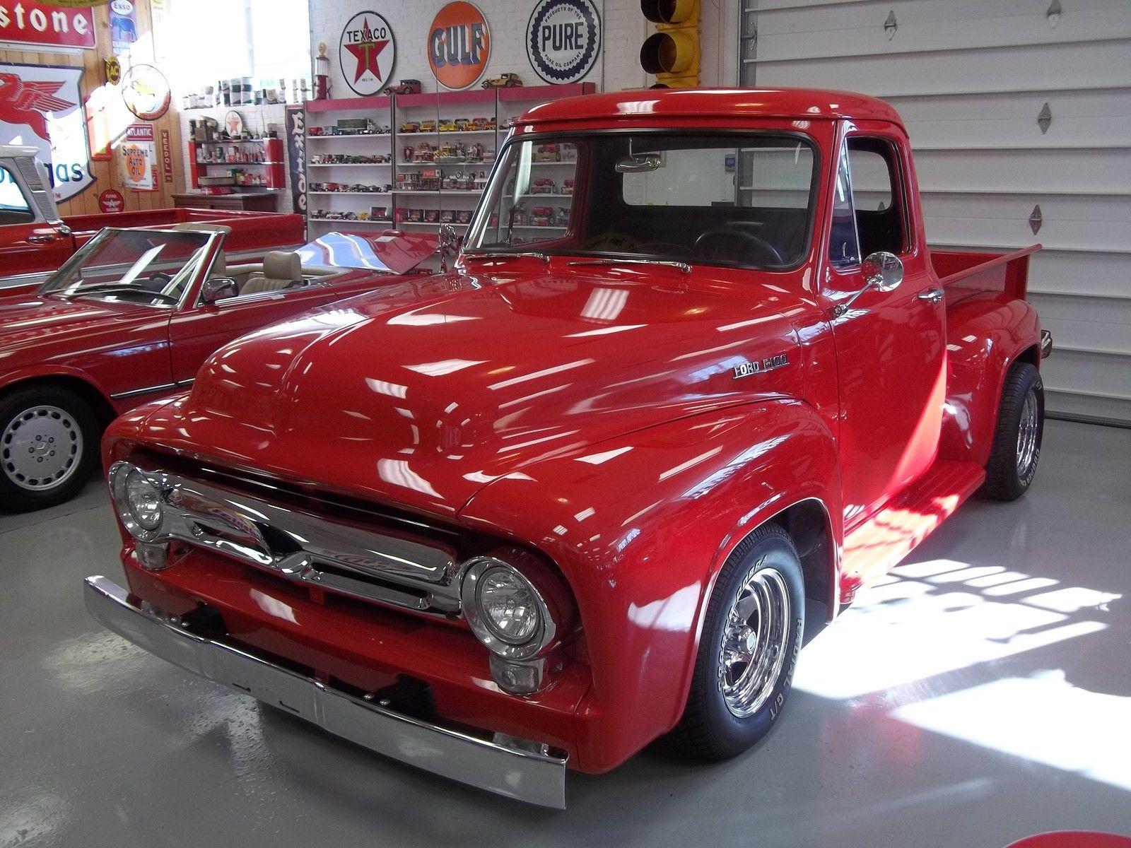 1955 Ford Pickup Beautiful F100 F 100 Custom Truck Restored 130 Pick Up Pics 5 Videos
