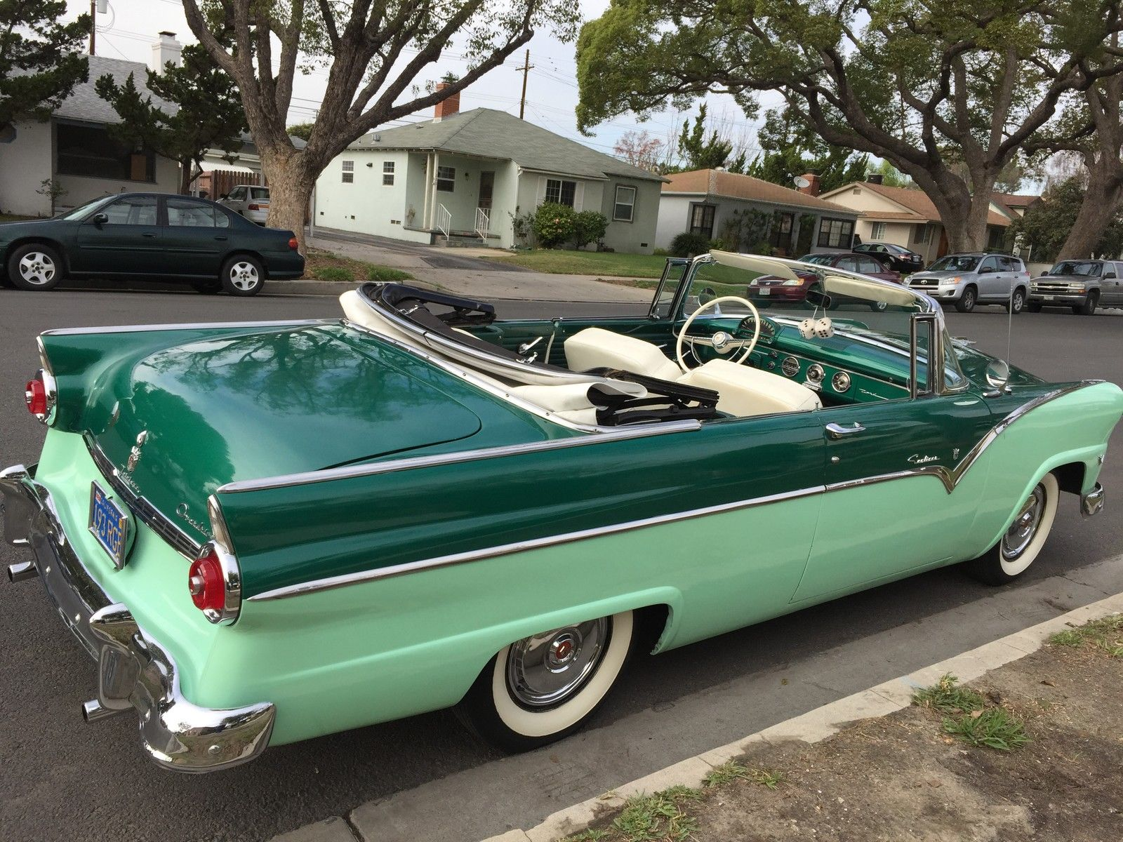 Wheel Well Liner >> 1955 Ford Sunliner Convertible NO RESERVE