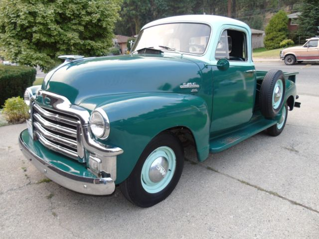 1955 gmc 100 first series five window pick up survivor for 1955 gmc 5 window pickup for sale