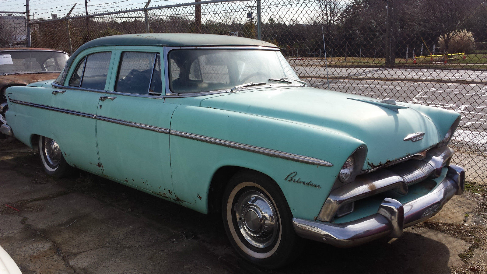 1955 plymouth belvedere 4 door with free parts car 2 for for 1955 plymouth belvedere 4 door sedan