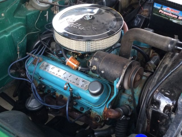 1955 Pontiac Air Cleaner : Pontiac chieftain sedan