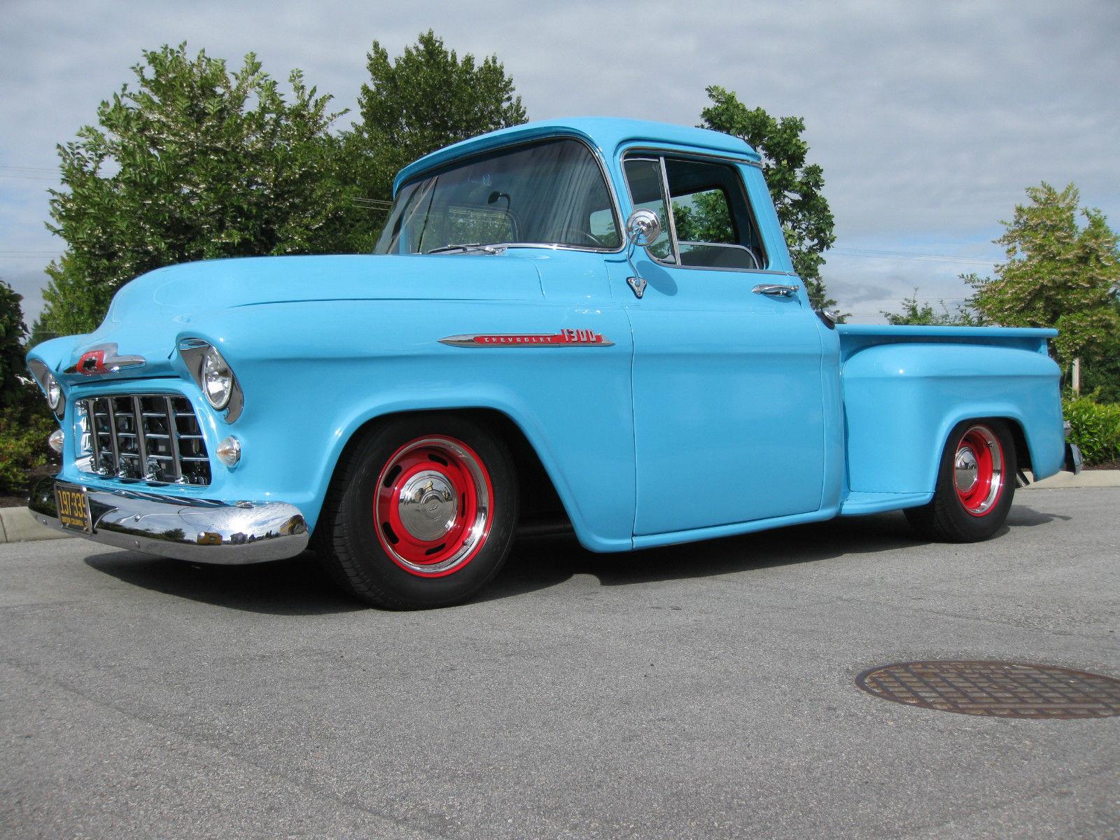 1956 chevrolet 1300 pickup truck hot rod street rod 350ho crate engine 700r4. Black Bedroom Furniture Sets. Home Design Ideas