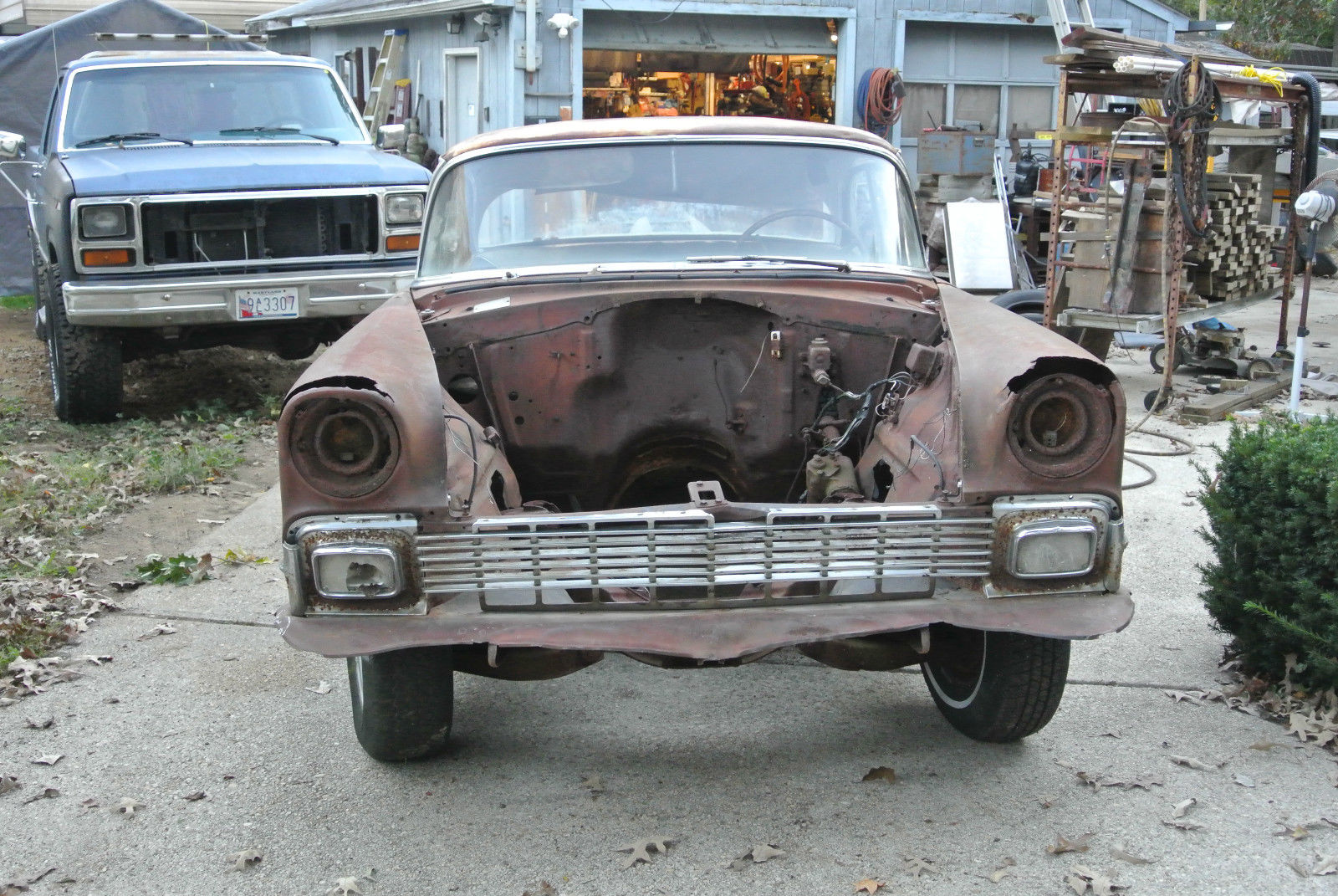 1956 Chevrolet Bel Air 4 Door Hardtop With Factory Ac And
