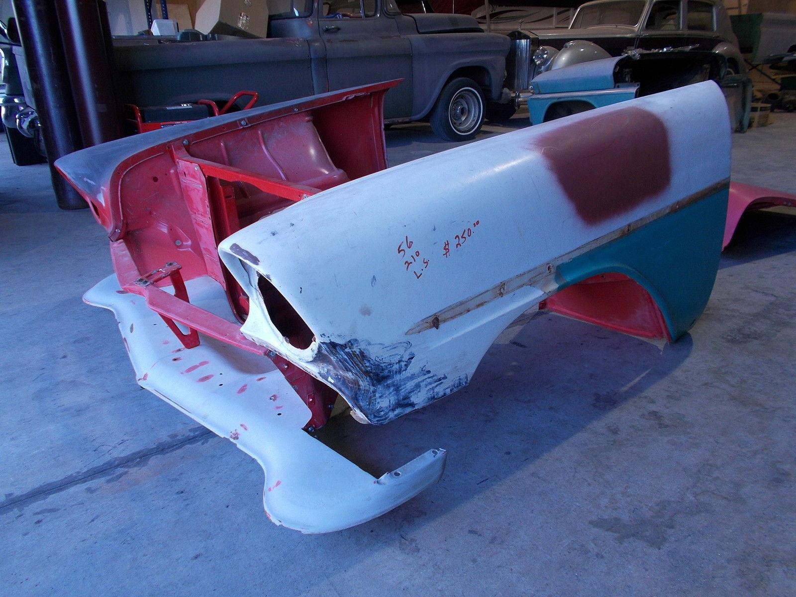 1956 Chevrolet Bel Air Sport Coupe 2 Door Hardtop Project Car