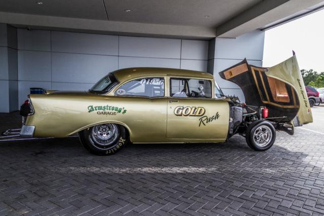 1956 Chevrolet Belair 150210 Gasser Drag Car Prostreet Nostalgia