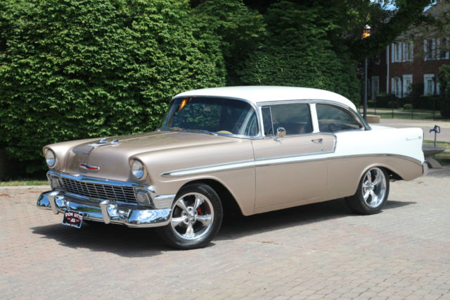 1956 chevrolet belair 2 door post car restomod zz350 for 1956 chevy belair 4 door for sale