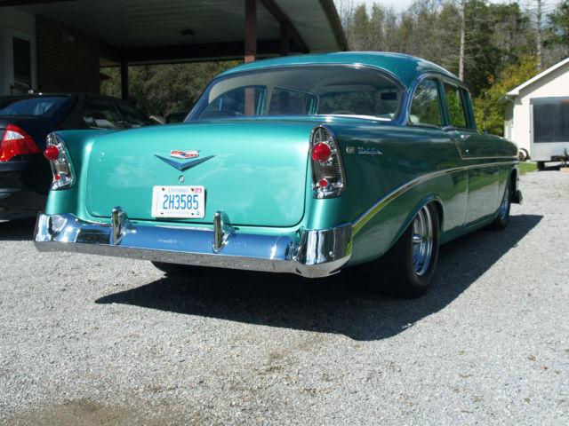 1956 chevrolet belair 2 door sedan hotrod sixties fresh for 1956 chevrolet belair 4 door