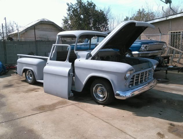 1956 chevrolet chevy truck shortbed big rear window for 1957 chevy big window truck for sale