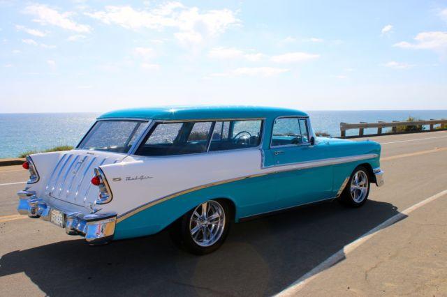 1956 Chevrolet Nomad Bel Air Resto-Mod