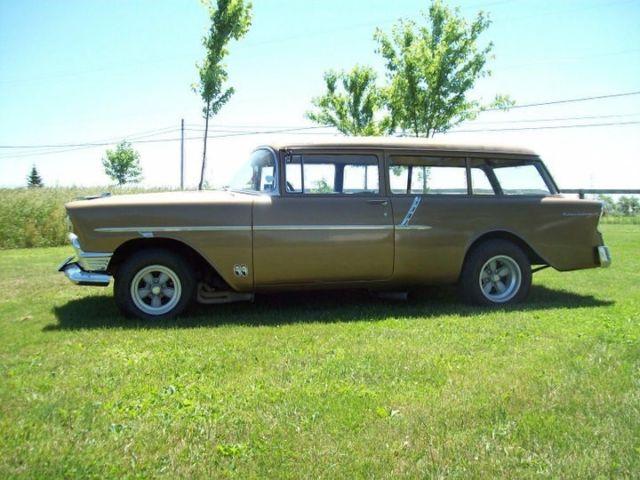 1956 chevy 150 2 door wagon old school hotrod big block 4 for 1956 chevy wagon 4 door