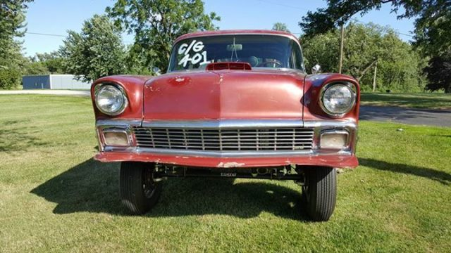 1956 CHEVY 210 SURVIVOR GASSER DRAG CAR