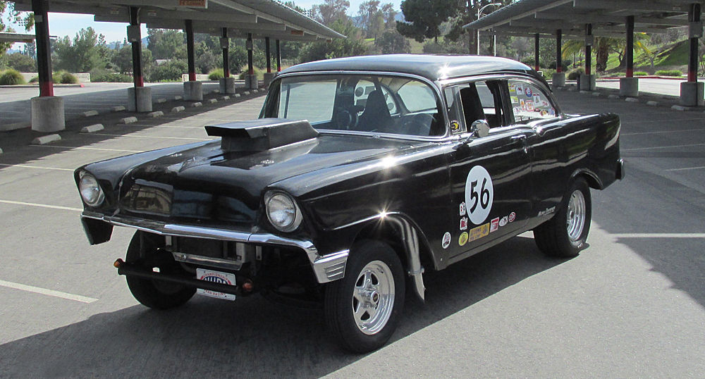 1956 Chevy Bel Air Hot Rod Streetstrip Gasser Drag Race Car