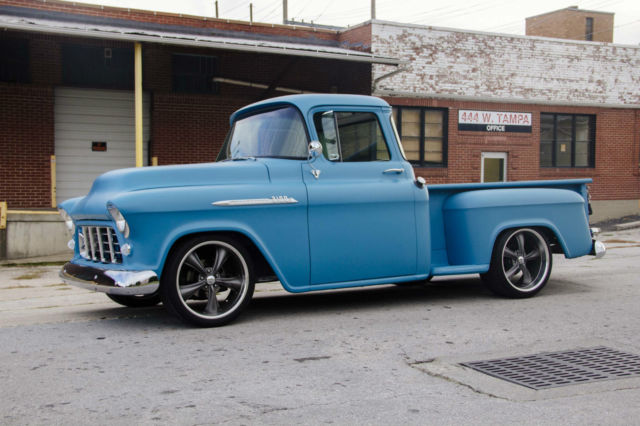 1956 chevy pickup 3100 big window chevrolet crate 350 for Springfield registry of motor vehicles