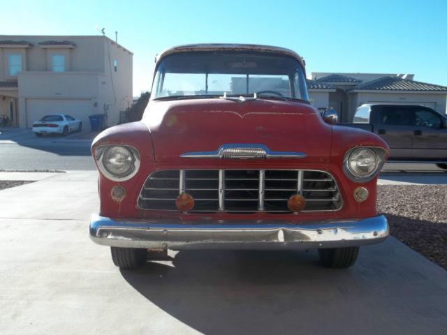 1956 chevy truck short bed big window 3100 for Red line motors el paso tx