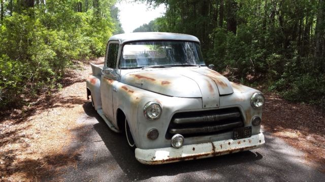 1956 Dodge Pickup Job Rated Rat Rod Patina Shop Truck