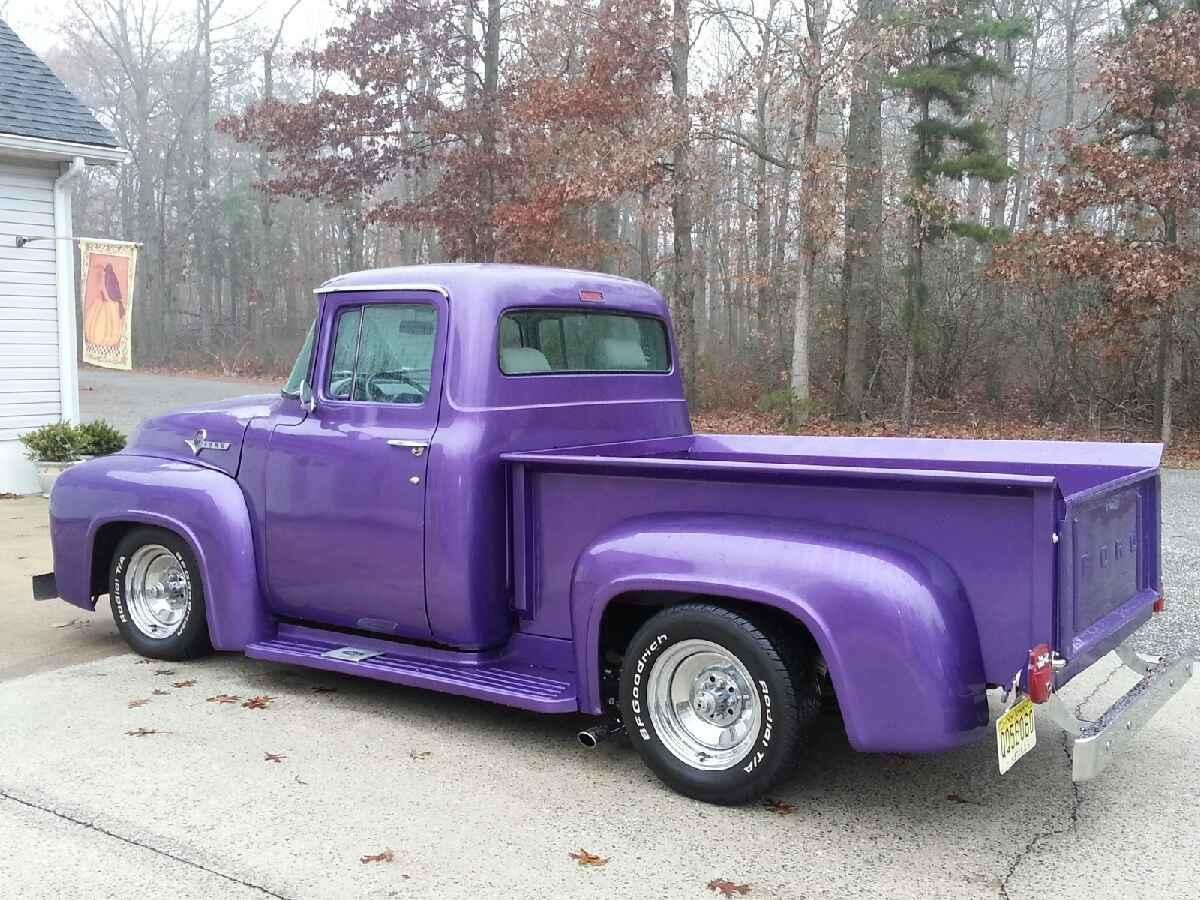 1956 F100 Hot Rod Pickup 351 Ford Motor 1955