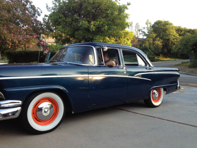 Ford West Covina >> 1956 Ford Customline - Original Engine and Driveline - Four Door Family Fun!