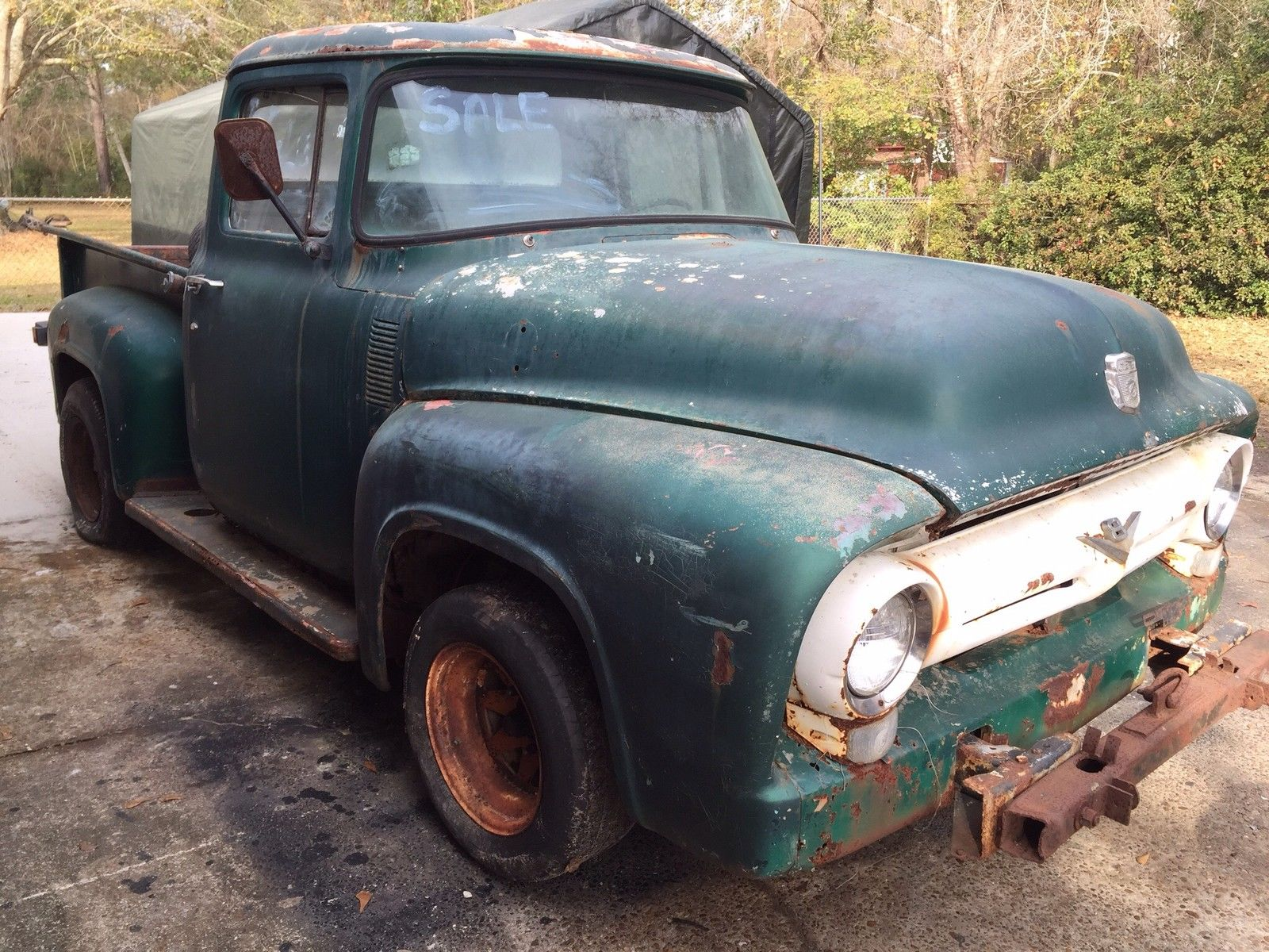 56 Ford F100 Restoration Project For Sale Upcomingcarshq Com
