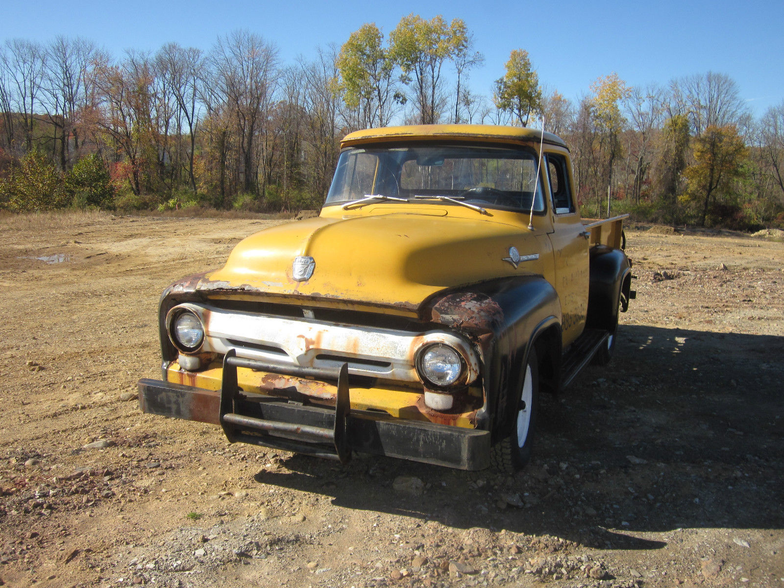 1956 ford f250 not f100 pickup truck runs and drives. Black Bedroom Furniture Sets. Home Design Ideas