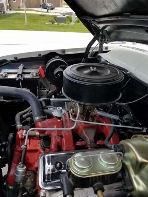 1956 Ford Fairlane With Continental Kit Rebuilt Engine V8