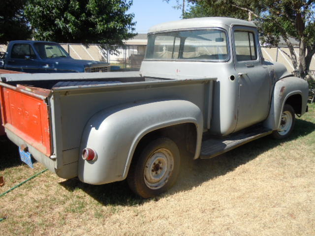 1956 ford project truck for 1956 big window ford truck sale