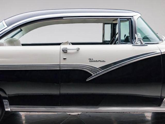 1956 Ford Victoria 292 V8 3 Speed Auto Hardtop Raven Black