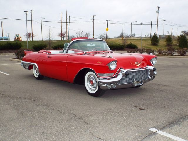 1957 Cadillac Eldorado Biarritz Convertible Ready To Show Or Drive