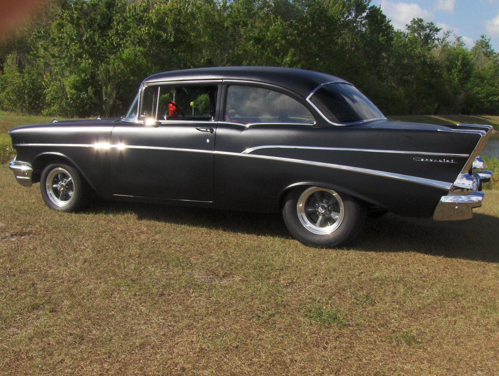 1957 Chevrolet 210 2 Door Post Hot Rod