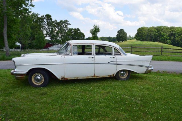 1957 chevrolet 210 4 door original for 1957 chevy 210 4 door