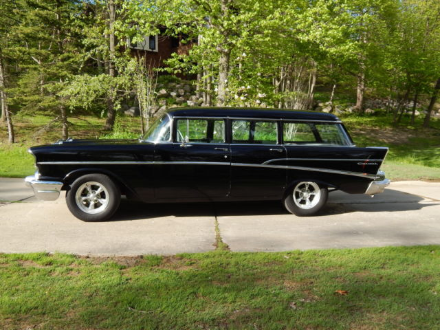 1957 chevrolet 210 four door wagon frame on restoration for 1957 chevy 4 door wagon for sale