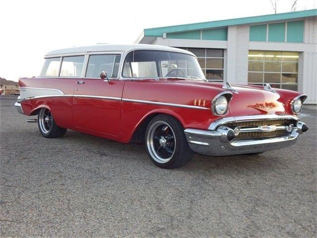 1957 chevrolet 210 handyman bel air auto wagon small block v8 vintage nostalgia. Black Bedroom Furniture Sets. Home Design Ideas