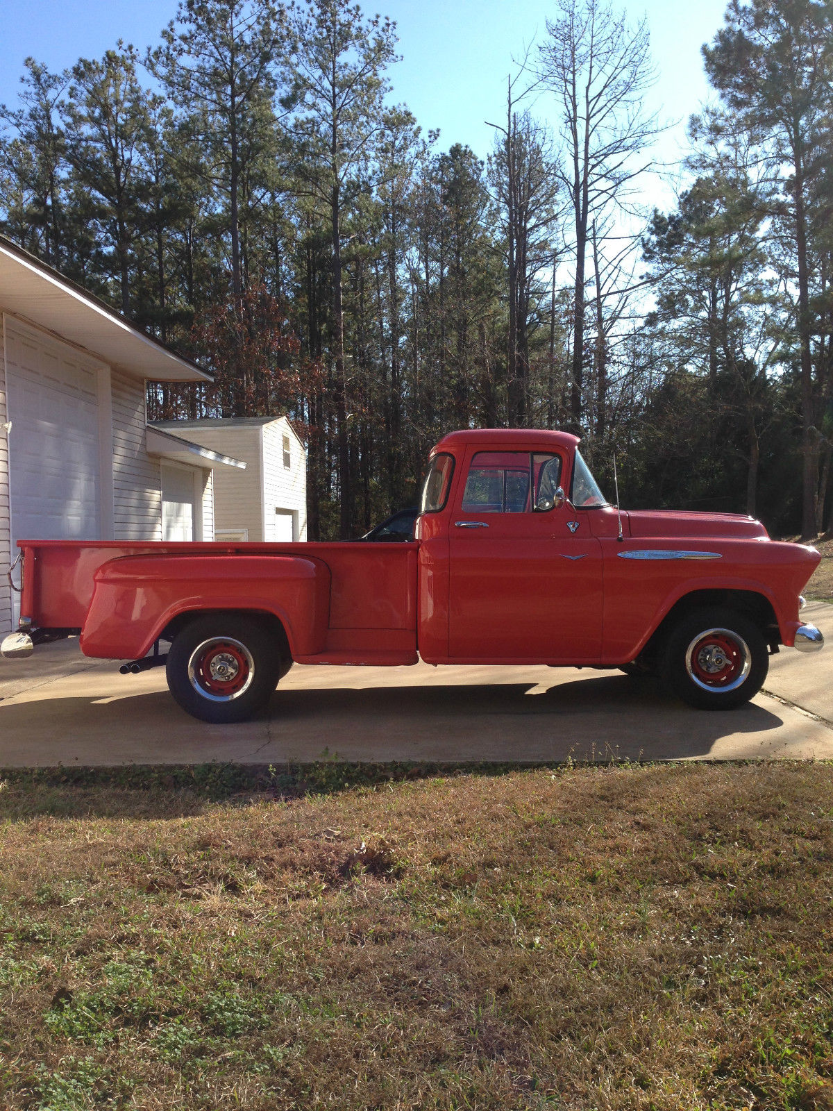1957 Chevrolet 3200 Pickup Truck With Big Window And 8 Step Side Bed Pick Up