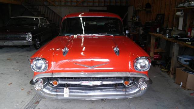 1957 Chevrolet Bel Air Station wagon, Chevy.nomad, hot rod ...