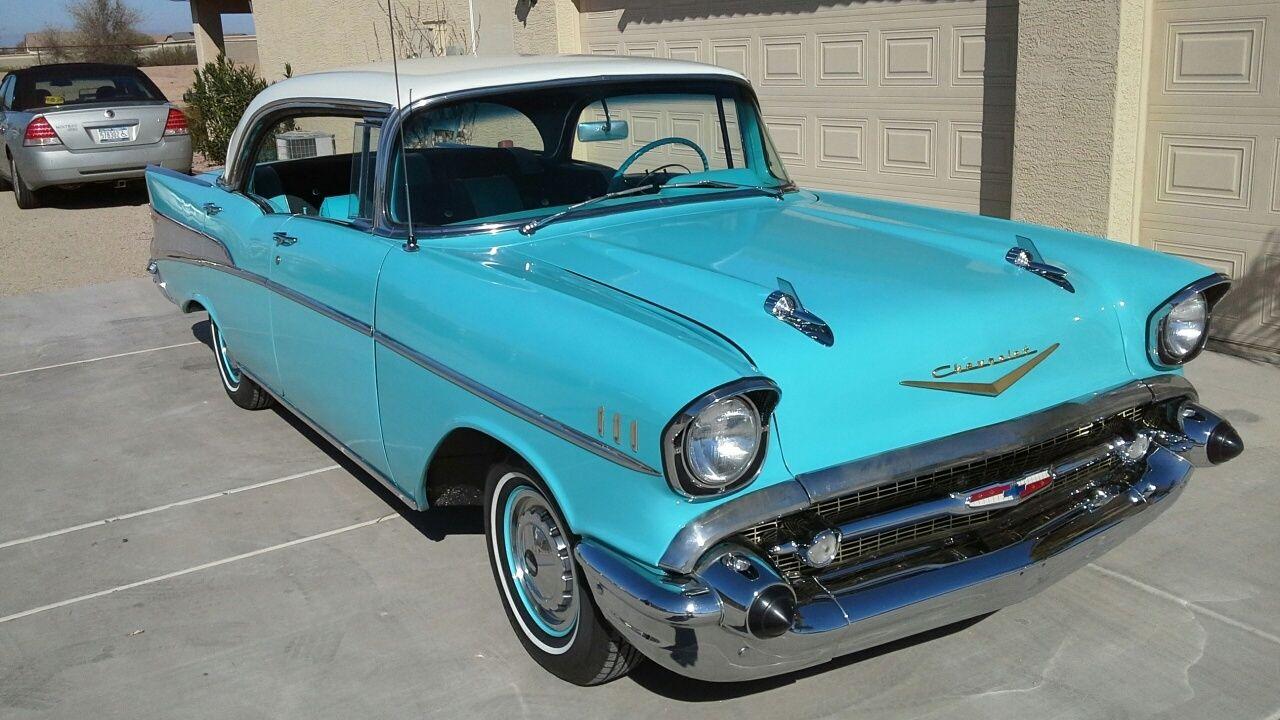 1957 chevrolet belair 4 door hardtop sports coupe for 1957 chevy belair 4 door hardtop
