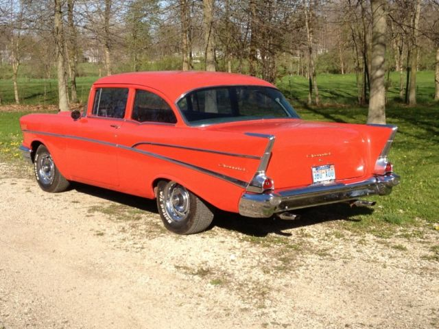 1957 chevy 210 2 door post for 1957 chevrolet 2 door post