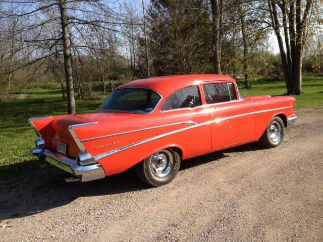 1957 chevy 210 2 door post for 1957 chevy 210 4 door