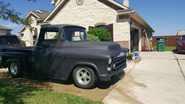 1957 chevy 3100 ls swap apache swb pickup. Black Bedroom Furniture Sets. Home Design Ideas