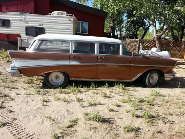 1957 chevy bel air 210 4 door station wagon for sale in fallon nevada united states. Black Bedroom Furniture Sets. Home Design Ideas