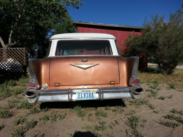 1957 Chevy Bel Air 210 4 Door Station Wagon For Sale In